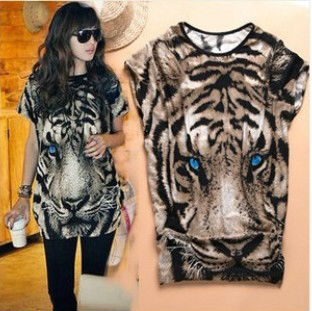 New-arrivel-2013-summer-women-s-fashion-Tiger-Printed-T-shirt-Long-Tops-short-sleeve-Popular.jpg